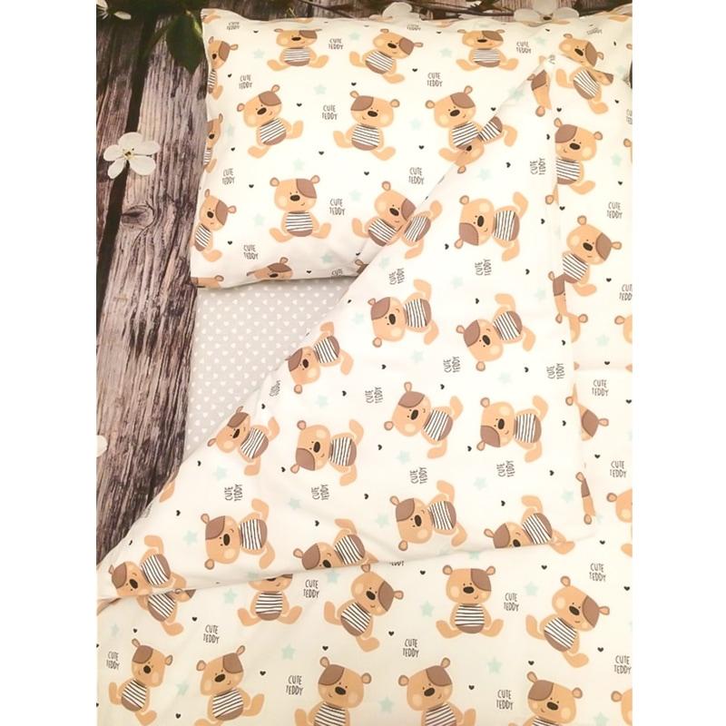 Комплект постельного белья для новорожденных Мишка Тедди