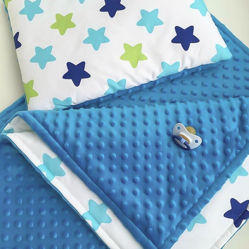 Комплект постільної білизни для хлопчика Синя Зірочка