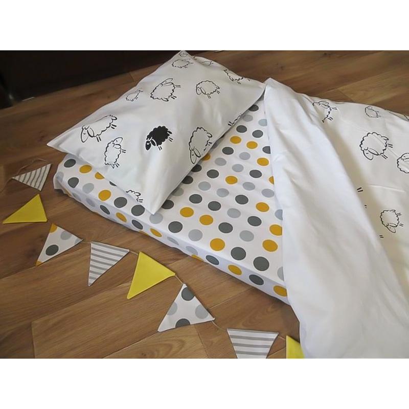 Комплект постільної білизни для новонародженого Баранець