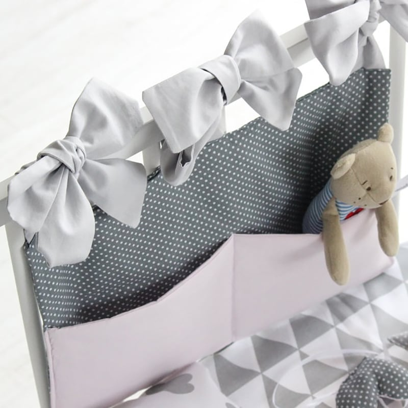Органайзер для кроватки новорожденного Молочный Мишутка
