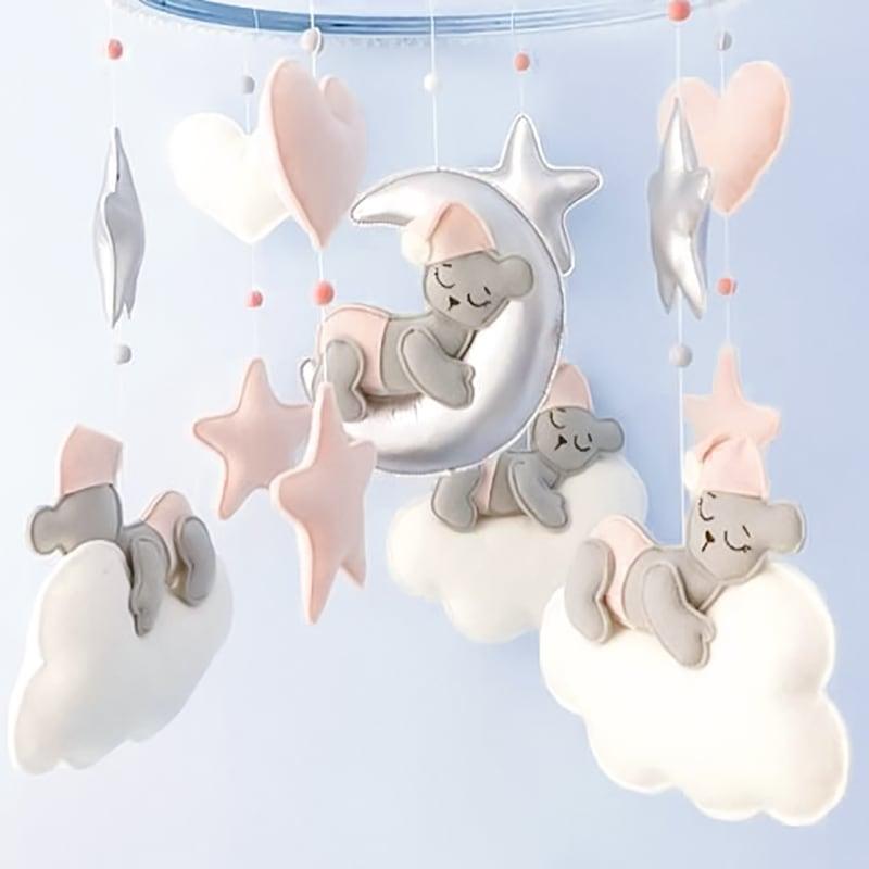 Мобиль на кроватку новорожденным Мир Сновидений