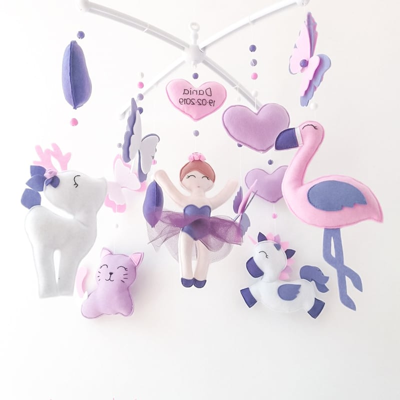 Мобиль на кроватку девочке Маленькая Волшебница