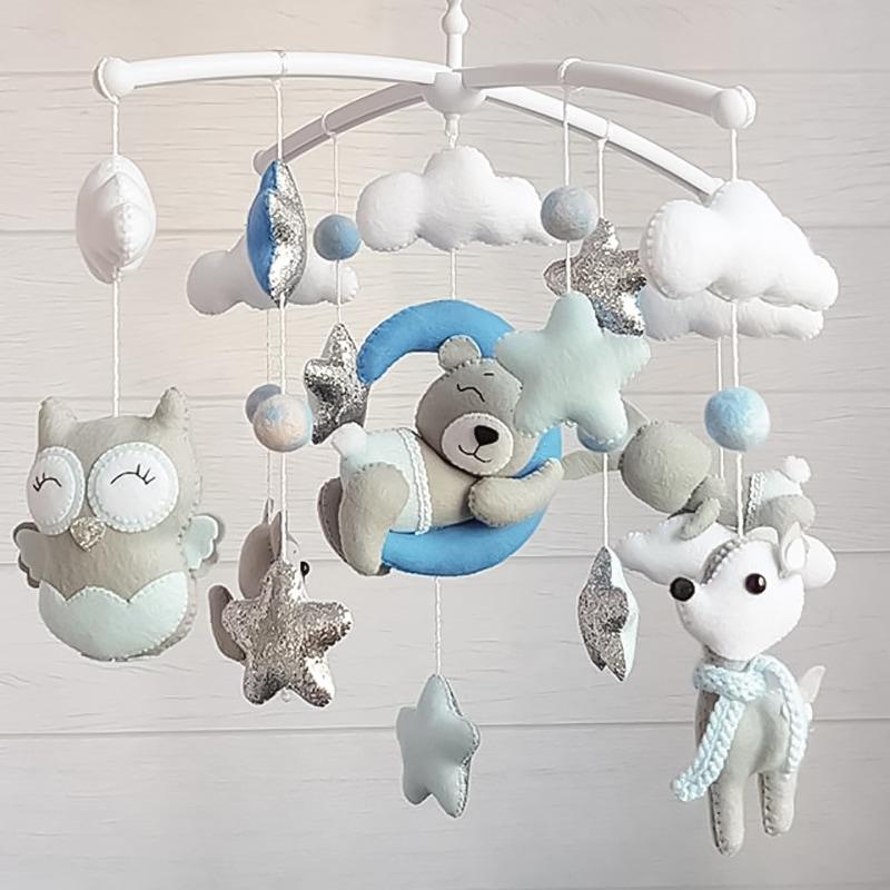 Мобіль підвісний для дитячого ліжечка Мамина Казка