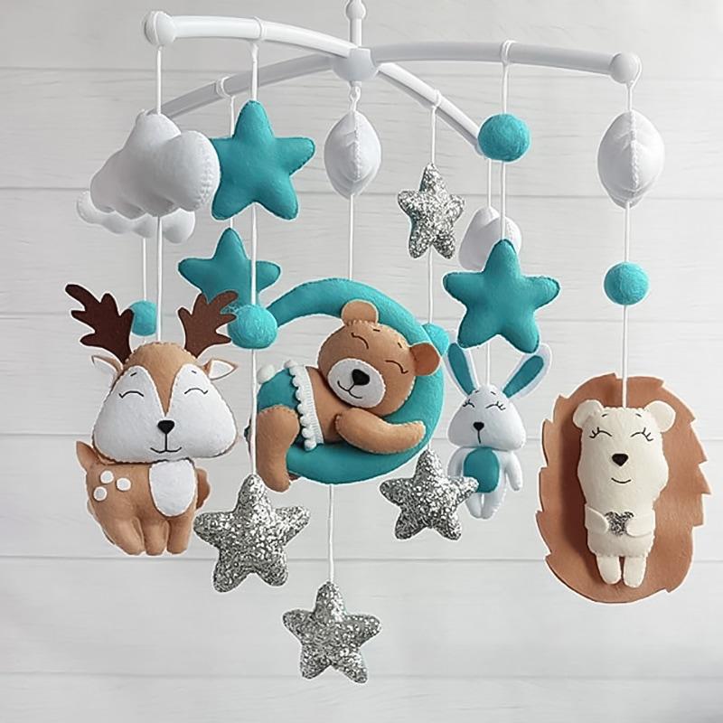 Мобиль подвесной для детской кроватки Спят Усталые Игрушки