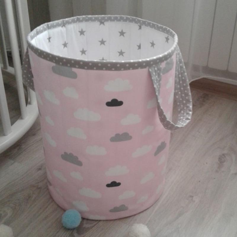 Кошик для іграшок дівчинці Рожева Хмарка