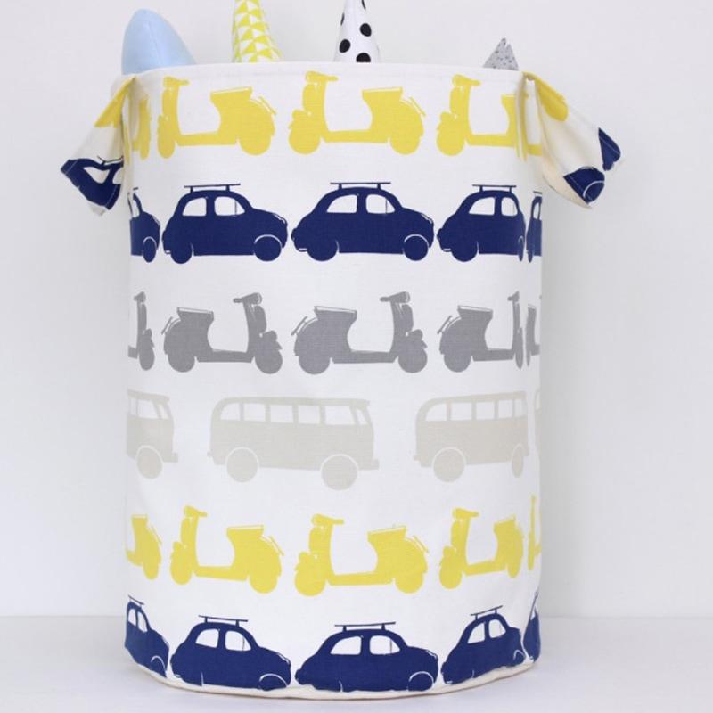 Корзина для игрушек мальчику Авто