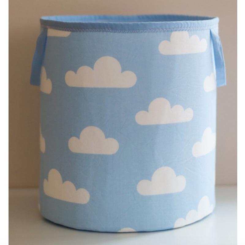Кошик для іграшок хлопчикові Блакитна Хмаринка