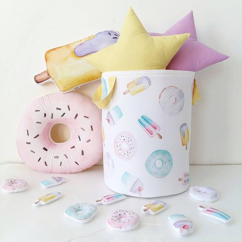 Корзина для игрушек handmade Swееty