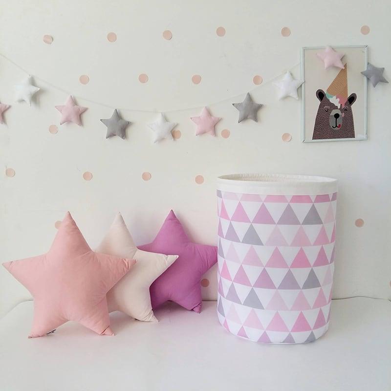 Кошик для іграшок дівчинці Pink Pastille
