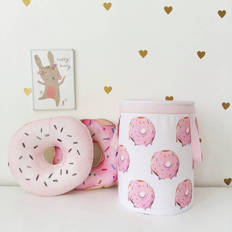 Кошик для іграшок дівчинці Donut Jimmy