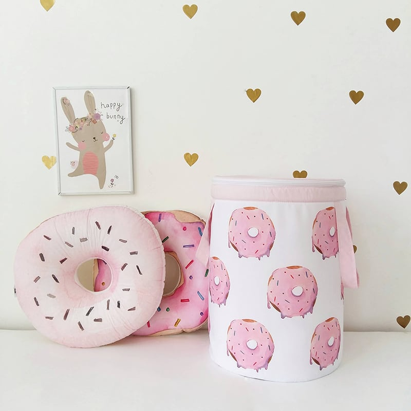 Корзина для игрушек девочке Donut Jimmy