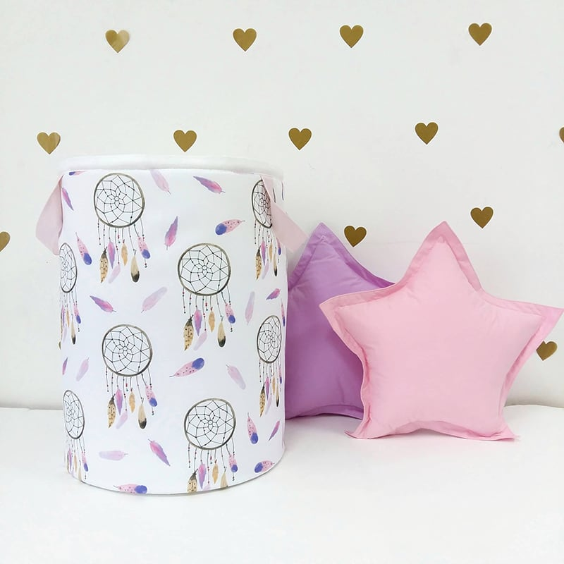 Корзина для игрушек девочке Pink Dream Catcher