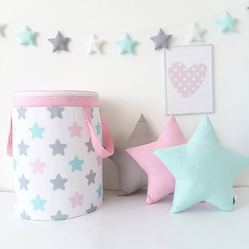 Корзина для игрушек Pastel Stars