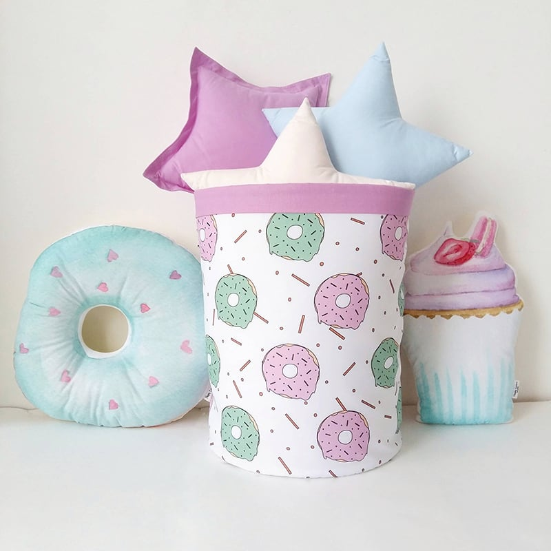 Корзина для игрушек Delicious Donut