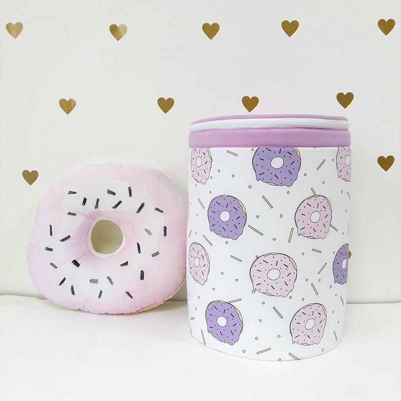 Корзина для игрушек девочке Sweet Donut