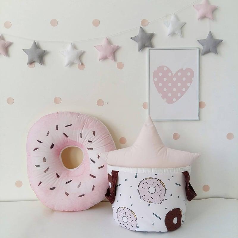 Кошик для іграшок Chocolate Donut