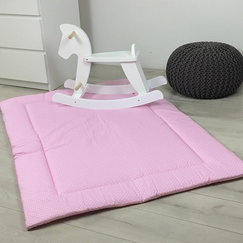 Килимок ігровий для дівчаток Рожеві Зірочки