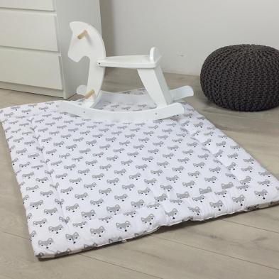 Игровой коврик для детей Жемчужный Лисенок