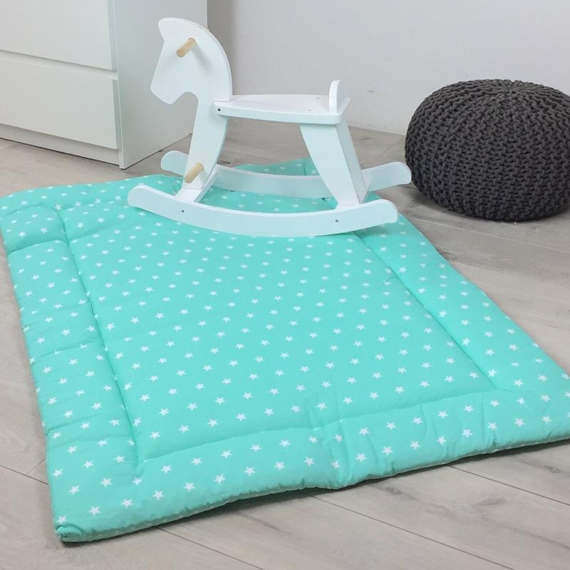Игровой коврик для детей Мятные звездочки