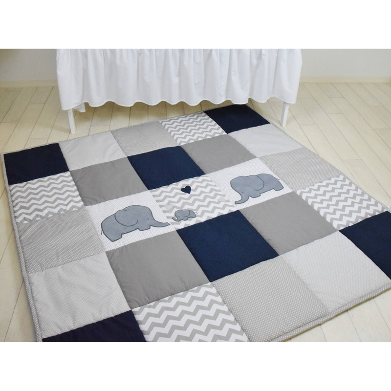 Ігровий килимок для дітей Елефант