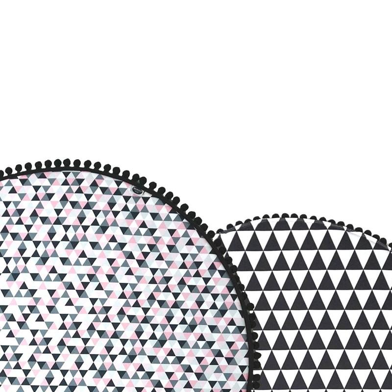 Игровой коврик для детей Треугольники