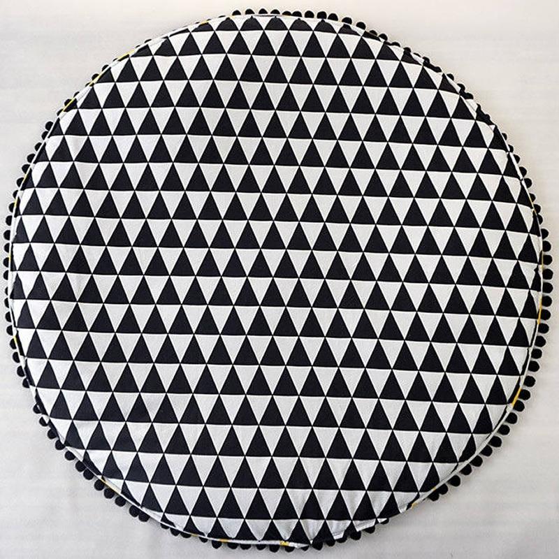 Ігровий килимок для дітей Жовті Хрестики