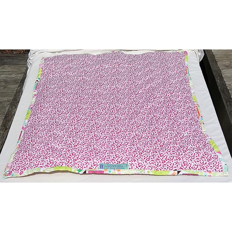 Килимок ігровий для дівчаток Рожевий Бом Бон