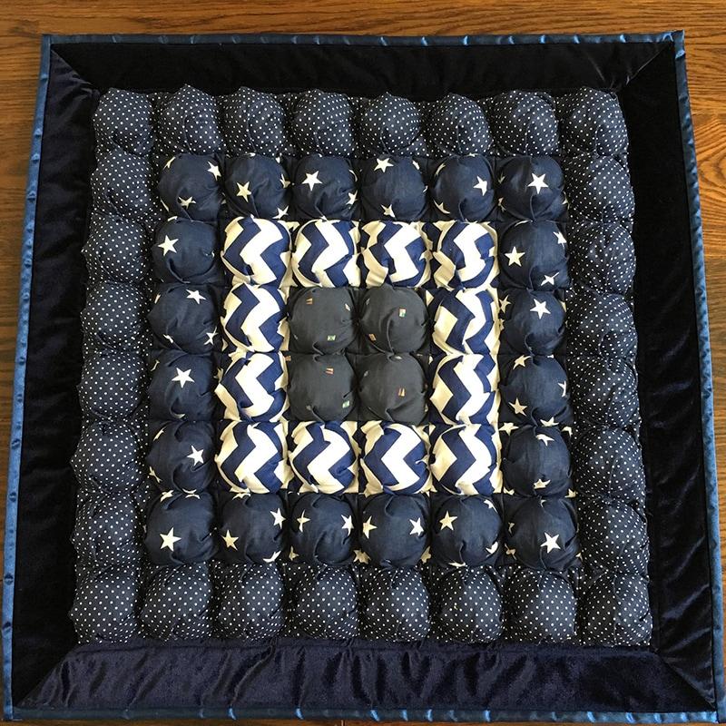 Килимок ігровий для хлопчика Синій Бом Бон