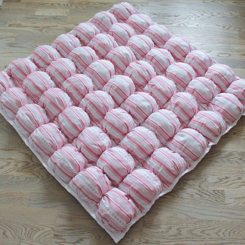 Ігрові килимки для дівчаток Рожевий Пуф