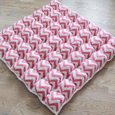 Ігрові килимки для дівчаток Пуф Зигзаг Рожевий