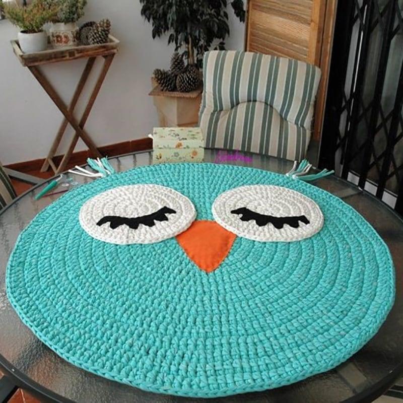 Килимок ігровий для дітей Mint Owl
