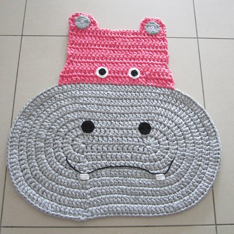 Игровой коврик для детей Merry Hippo