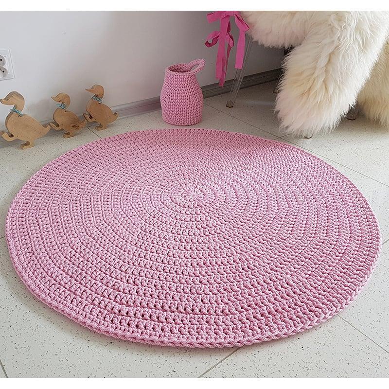 Коврик игровой для девочки Pink Circle