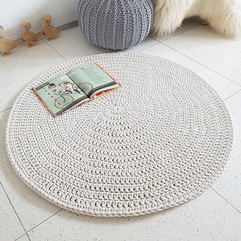 Ігровий килимок дитячий Cream Circle