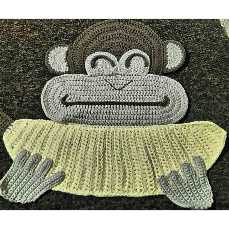Игровой детский коврик Monkey and Banana