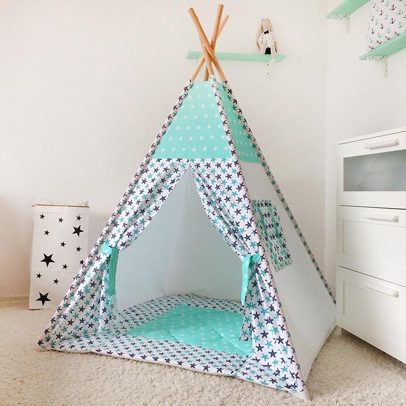 Вигвам палатка для мальчика Одна Ночь