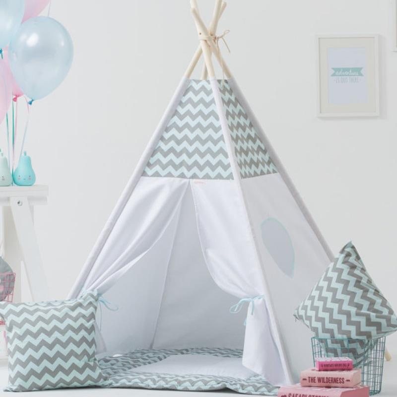 Вигвам-палатка для ребенка Взъерошенные Перья