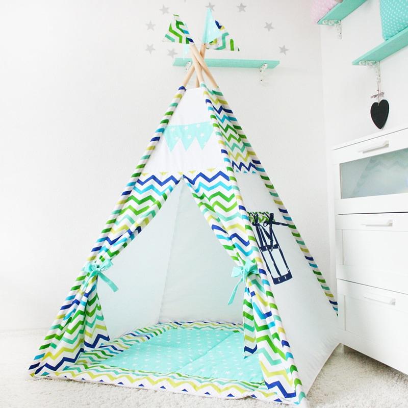 Вигвам-палатка для детей Вождь Грозовых Птиц