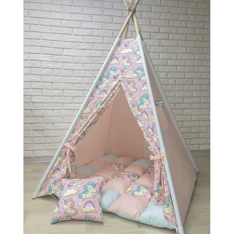 Палатка-вигвам для детей У Него Доброе Сердце