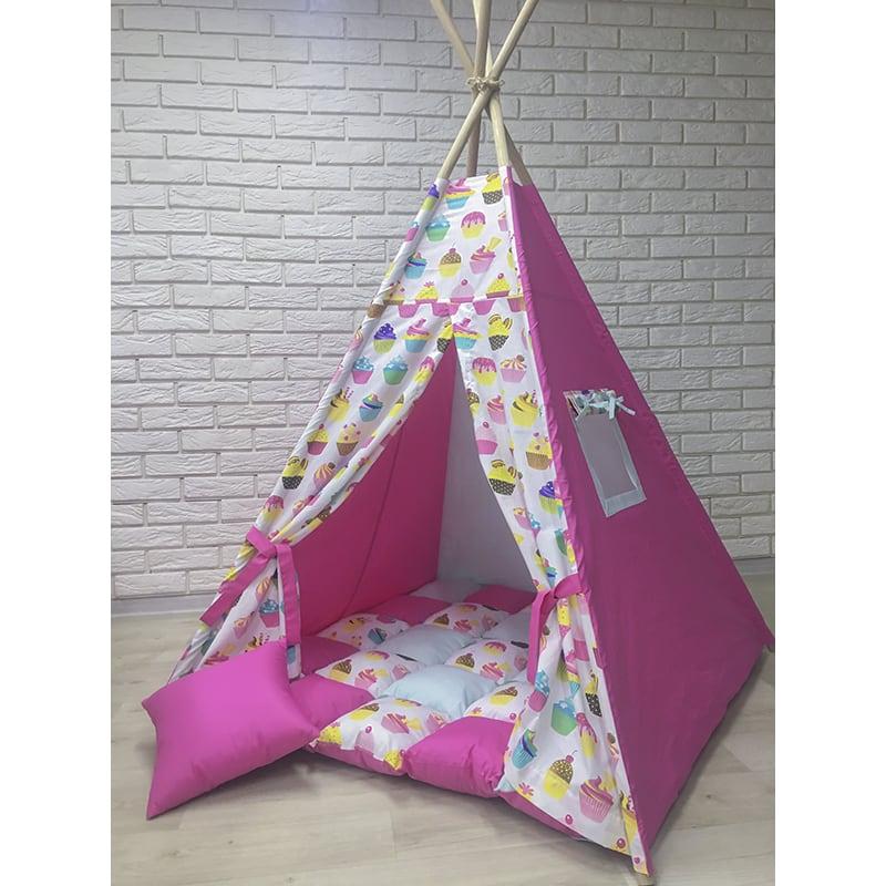 Вигвам дизайнерский для детей Любит Сладкий Мед