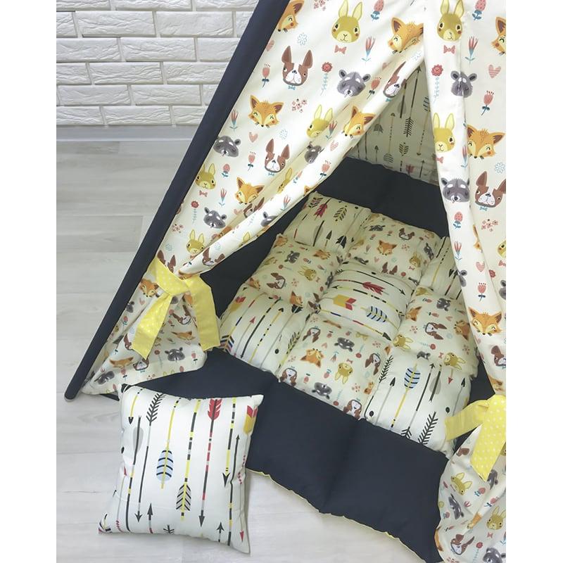 Палатка-вигвам для детей Тот, Который Крадется на Четырех Когтях