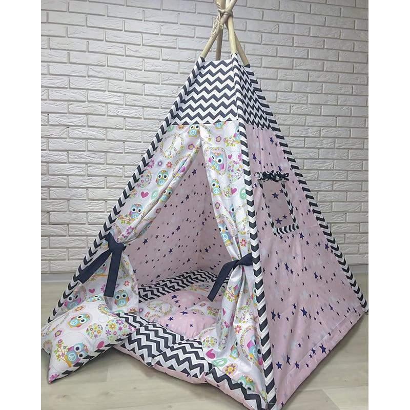 Вигвам-палатка на заказ Тот, Кто Говорит с Совой
