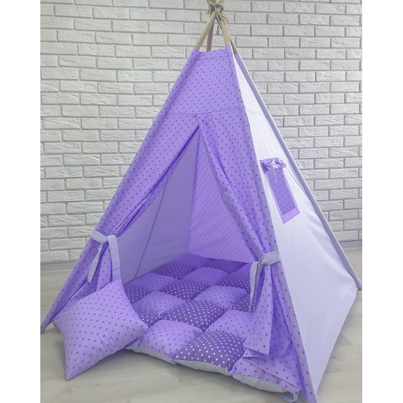 Палатка-вигвам для детей Облако Сиреневой Птицы