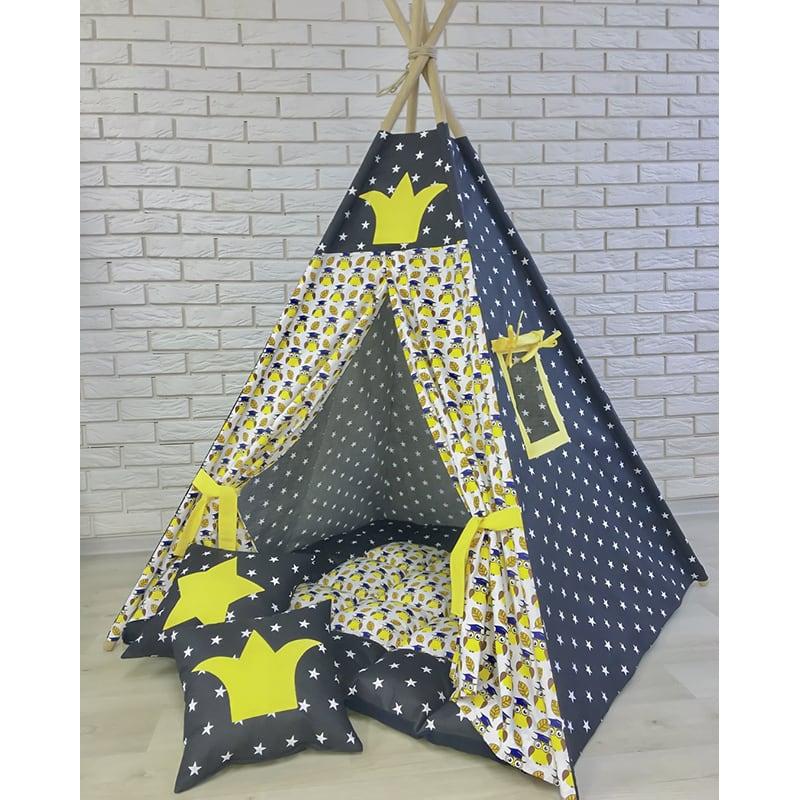 Авторский вигвам-палатка на заказ Вечная Птица