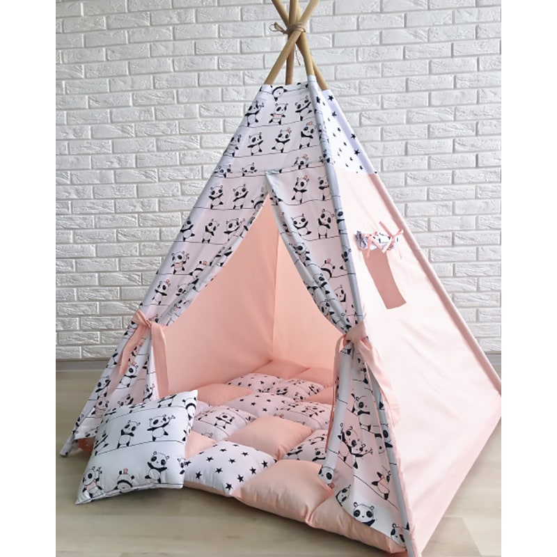 Палатка вигвам для девочки Та Кто Танцует с Пандой
