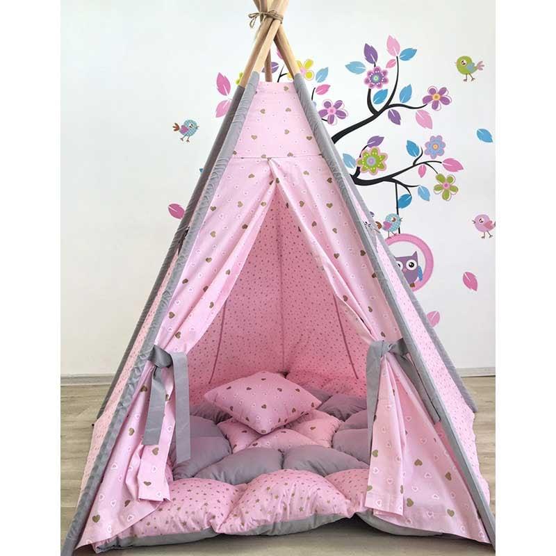 Палатка вигвам для девочки Рассветное Облако