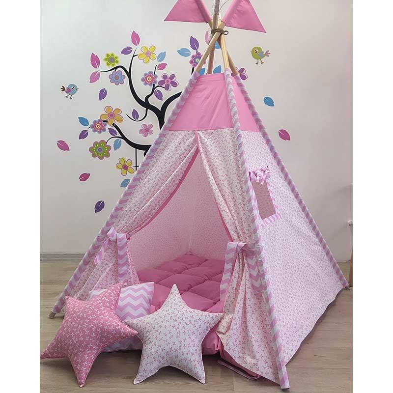 Палатка-вигвам для девочки Красивая Бабочка Из Ветра