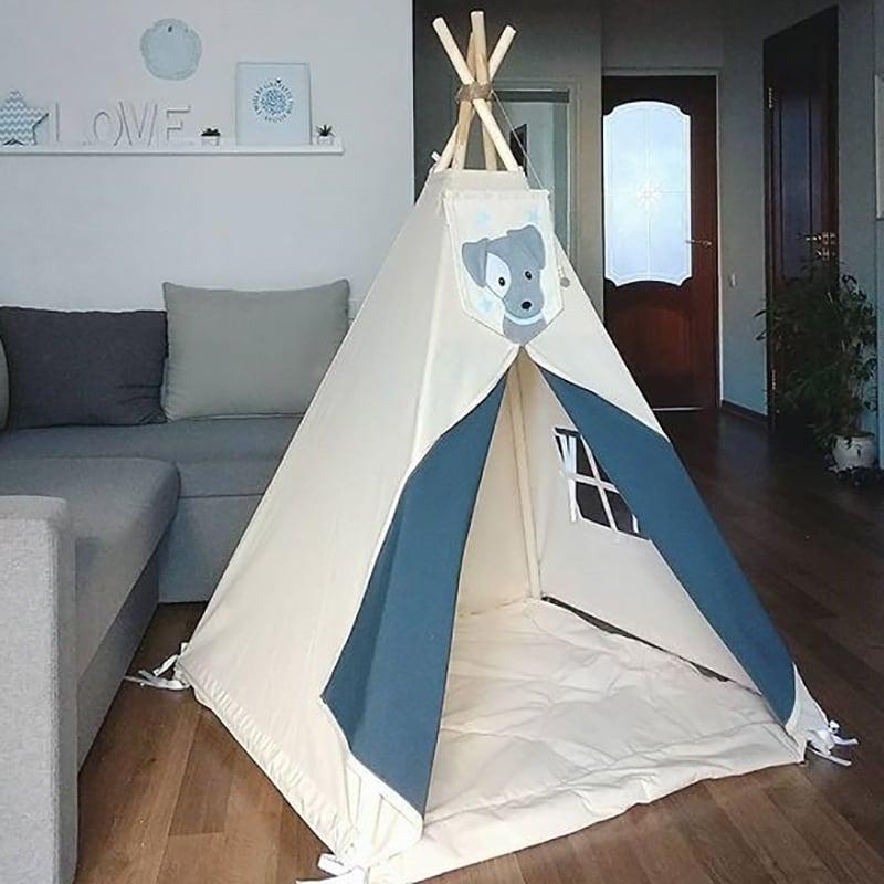 Детский вигвам-палатка Белый Волк