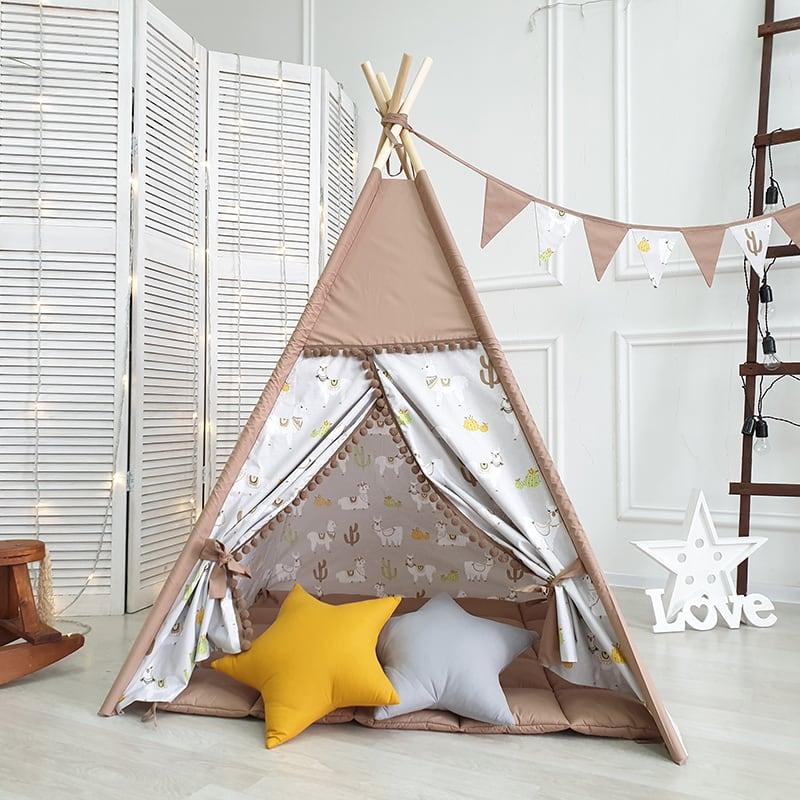 Вигвам палатка детская Белый Хвост