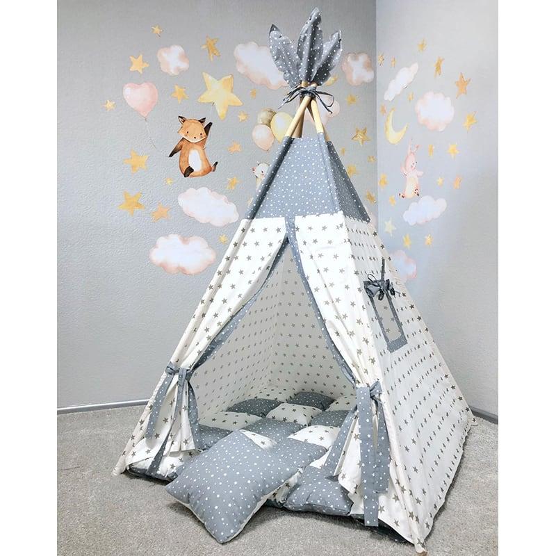 Палатка вигвам Управляет Звездами. Комплект 5 в 1
